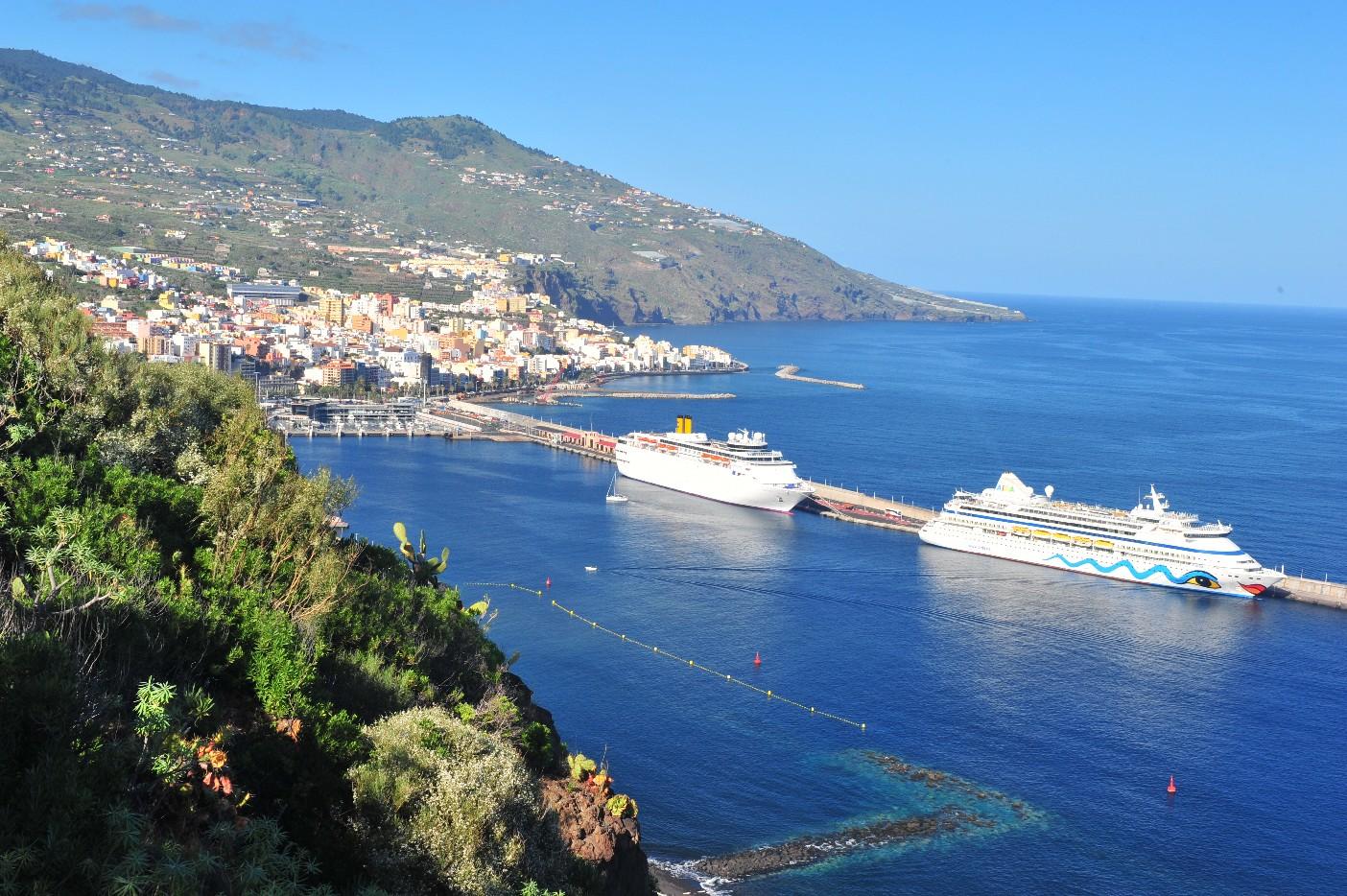 Taxi La Palma, cruise. Santa cruz de la palma, canarias