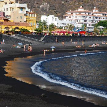 Taxi La Palma, playa de tazacorte